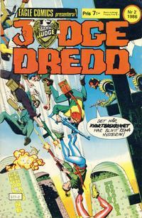 Cover Thumbnail for Judge Dredd (Eagle Comics; Pingvinförlaget, 1984 series) #2/1986
