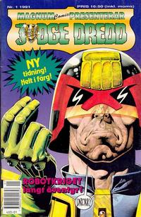 Cover Thumbnail for Judge Dredd (Atlantic Förlags AB, 1991 series) #1/1991