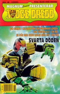 Cover Thumbnail for Judge Dredd (Atlantic Förlags AB, 1991 series) #6/1991