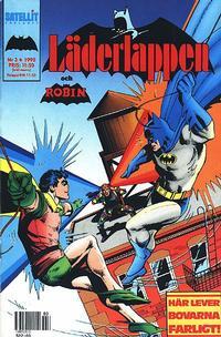 Cover Thumbnail for Läderlappen [och Robin] (SatellitFörlaget, 1989 series) #3/1990