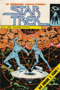 Cover Thumbnail for Star Trek (Atlantic Förlags AB, 1981 series) #3/1981