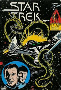 Cover Thumbnail for Star Trek (Atlantic Förlags AB, 1981 series) #1/1982