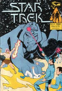 Cover Thumbnail for Star Trek (Atlantic Förlags AB, 1981 series) #2/1982