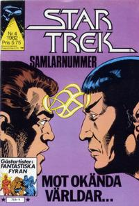 Cover for Star Trek (Atlantic Förlags AB, 1981 series) #4/1982