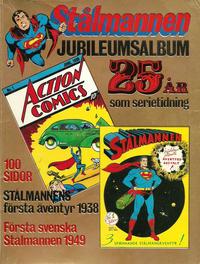 Cover Thumbnail for Stålmannen jubileumsalbum (Williams Förlags AB, 1974 series)