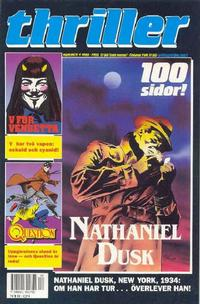Cover Thumbnail for Thriller (SatellitFörlaget, 1989 series) #4/1989