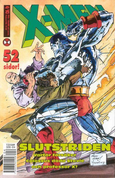 Cover for X-Men (SatellitFörlaget, 1990 series) #4/1993