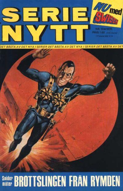 Cover for Serie-nytt [delas?] (Semic, 1970 series) #13/1970