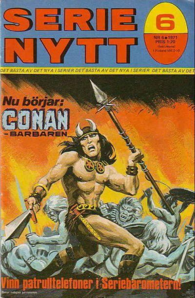 Cover for Serie-nytt [delas?] (Semic, 1970 series) #6/1971