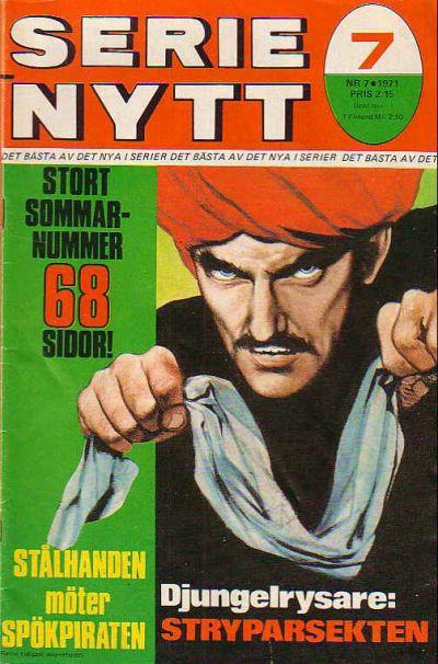 Cover for Serie-nytt [delas?] (Semic, 1970 series) #7/1971