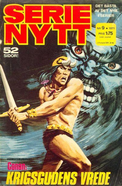 Cover for Serie-nytt [delas?] (Semic, 1970 series) #9/1971
