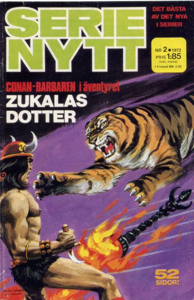 Cover for Serie-nytt [delas?] (Semic, 1970 series) #2/1972