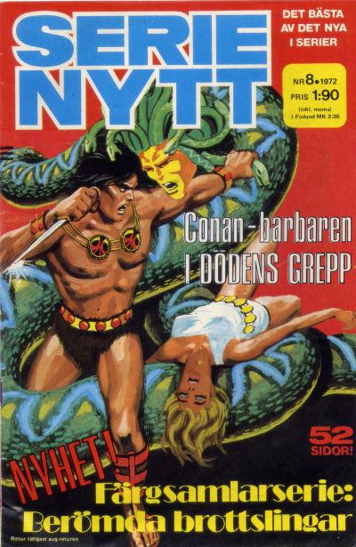Cover for Serie-nytt [delas?] (Semic, 1970 series) #8/1972