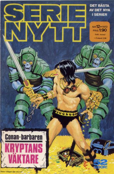 Cover for Serie-nytt [delas?] (Semic, 1970 series) #12/1972