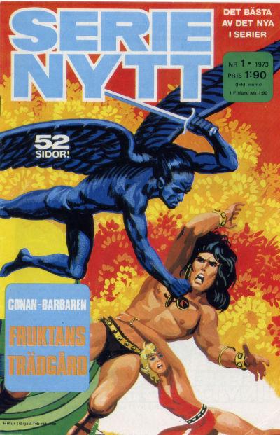 Cover for Serie-nytt [delas?] (Semic, 1970 series) #1/1973