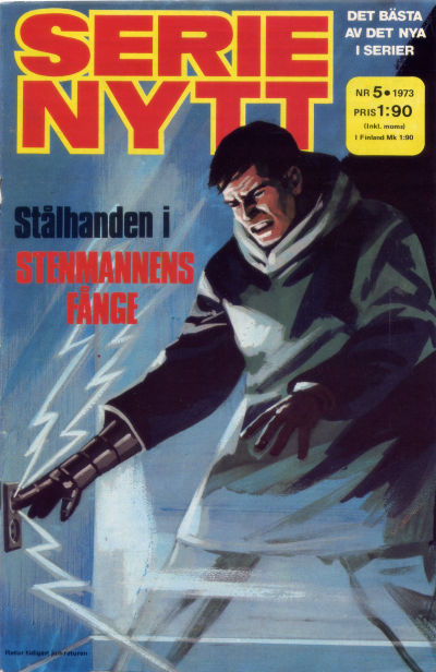 Cover for Serie-nytt [delas?] (Semic, 1970 series) #5/1973