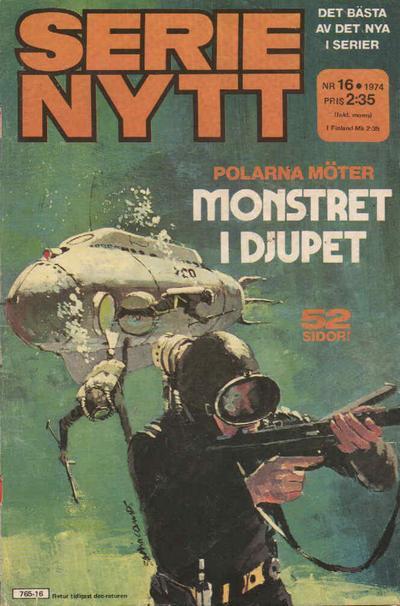 Cover for Serie-nytt [delas?] (Semic, 1970 series) #16/1974