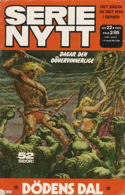 Cover for Serie-nytt [delas?] (Semic, 1970 series) #22/1976
