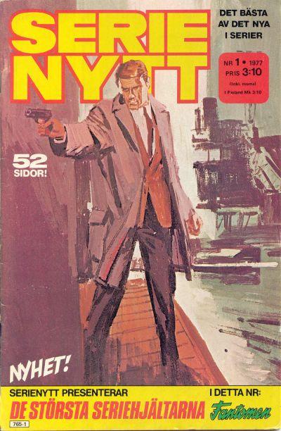 Cover for Serie-nytt [delas?] (Semic, 1970 series) #1/1977