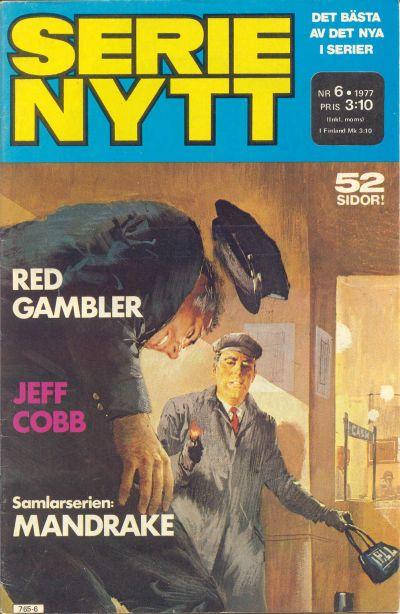 Cover for Serie-nytt [delas?] (Semic, 1970 series) #6/1977