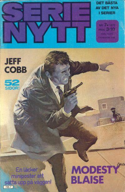 Cover for Serie-nytt [delas?] (Semic, 1970 series) #7/1977