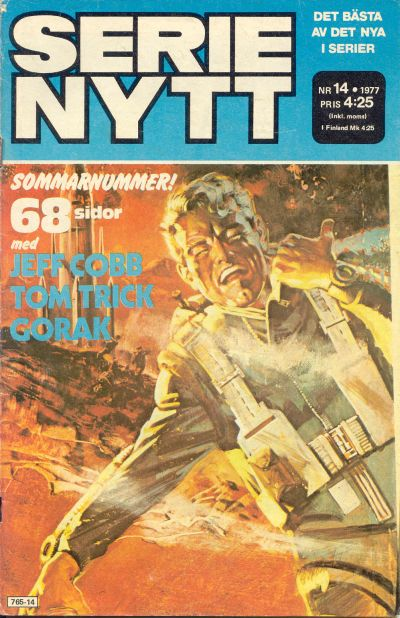 Cover for Serie-nytt [delas?] (Semic, 1970 series) #14/1977