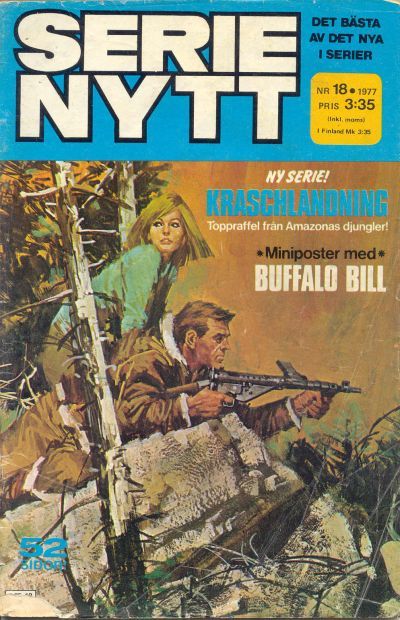 Cover for Serie-nytt [delas?] (Semic, 1970 series) #18/1977