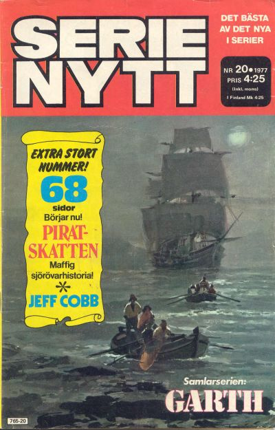 Cover for Serie-nytt [delas?] (Semic, 1970 series) #20/1977