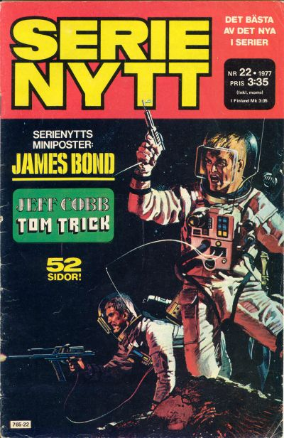 Cover for Serie-nytt [delas?] (Semic, 1970 series) #22/1977