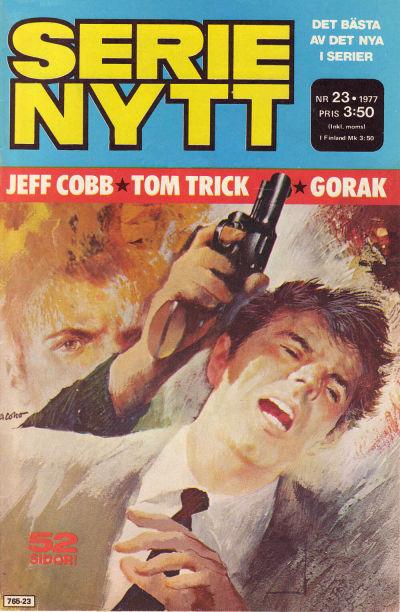 Cover for Serie-nytt [delas?] (Semic, 1970 series) #23/1977