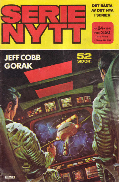 Cover for Serie-nytt [delas?] (Semic, 1970 series) #24/1977