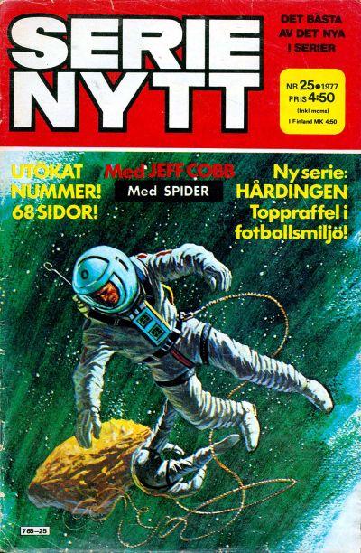 Cover for Serie-nytt [delas?] (Semic, 1970 series) #25/1977