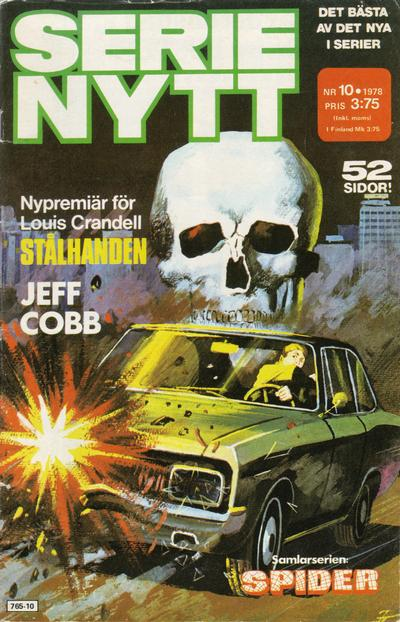 Cover for Serie-nytt [delas?] (Semic, 1970 series) #10/1978