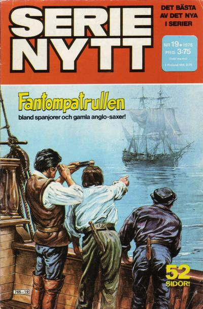 Cover for Serie-nytt [delas?] (Semic, 1970 series) #19/1978