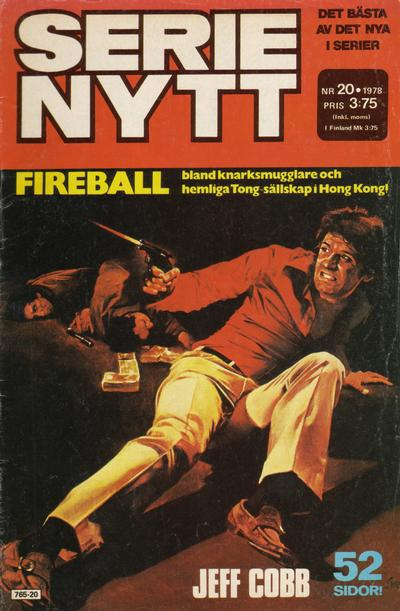 Cover for Serie-nytt [delas?] (Semic, 1970 series) #20/1978