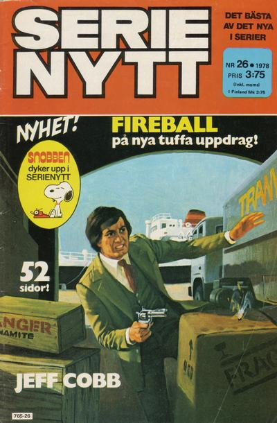 Cover for Serie-nytt [delas?] (Semic, 1970 series) #26/1978
