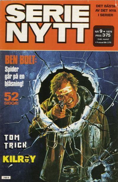 Cover for Serie-nytt [delas?] (Semic, 1970 series) #9/1979