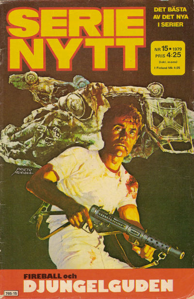Cover for Serie-nytt [delas?] (Semic, 1970 series) #15/1979