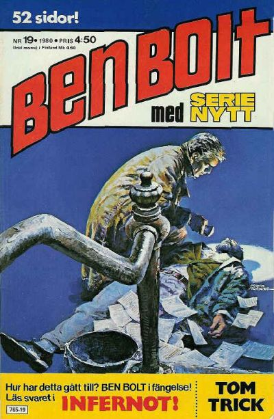 Cover for Serie-nytt [delas?] (Semic, 1970 series) #19/1980