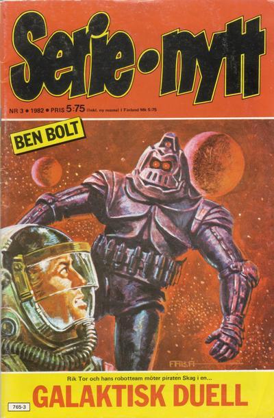 Cover for Serie-nytt [delas?] (Semic, 1970 series) #3/1982