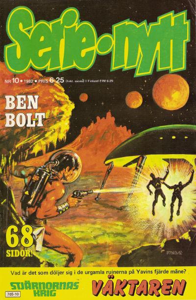 Cover for Serie-nytt [delas?] (Semic, 1970 series) #10/1982