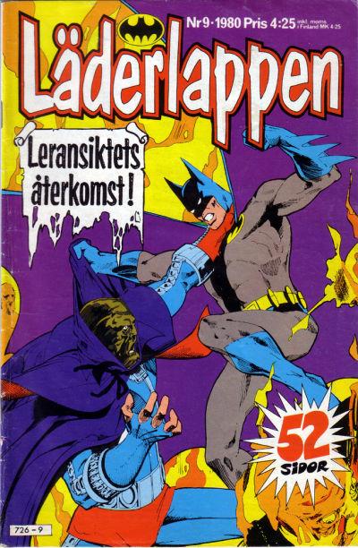 Cover for Läderlappen (Semic, 1976 series) #9/1980