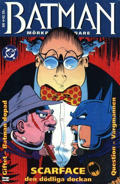 Cover for Batman - Mörkrets riddare (Epix, 1992 series) #4/92 [4/1992]