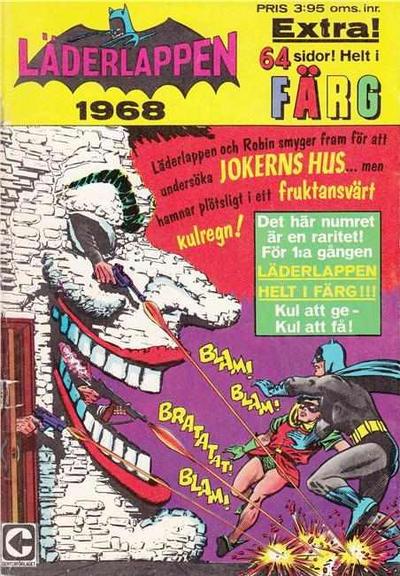 Cover for Läderlappen [och Robin extra] (Centerförlaget, 1968 series) #1968