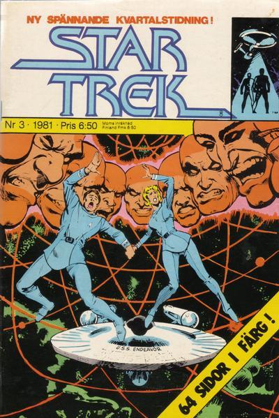 Cover for Star Trek (Atlantic Förlags AB, 1981 series) #3/1981