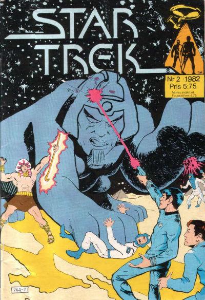 Cover for Star Trek (Atlantic Förlags AB, 1981 series) #2/1982