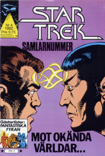 Cover for Star Trek (Atlantic Förlags AB, 1981 series) #4/1982