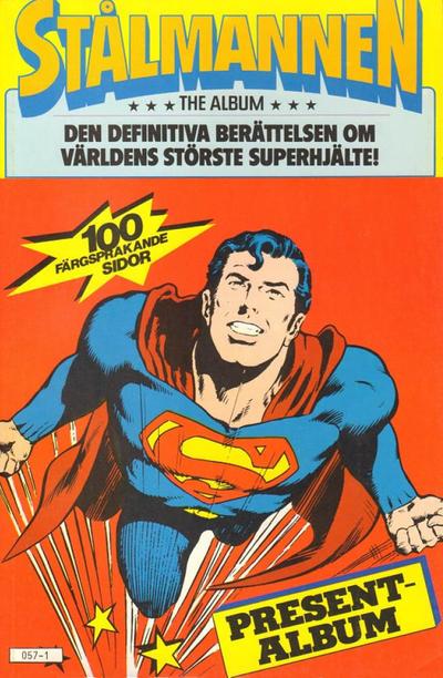 Cover for Stålmannen presentalbum [The Album] (Atlantic Förlags AB, 1980 series)
