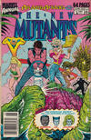 Cover for The New Mutants Annual (Marvel, 1984 series) #5 [Newsstand Edition]