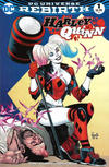 Cover for Harley Quinn (DC, 2016 series) #1 [Third Eye Comics Yanick Paquette Cover]